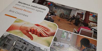 Plaquette commerciale EHPAD Bois-Colombes Fondation BELLAN